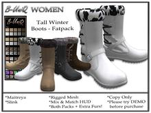 B-UniQ Women -  DEMO Tall Winter Boots