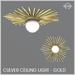Sequel - Culver Ceiling Light - Gold