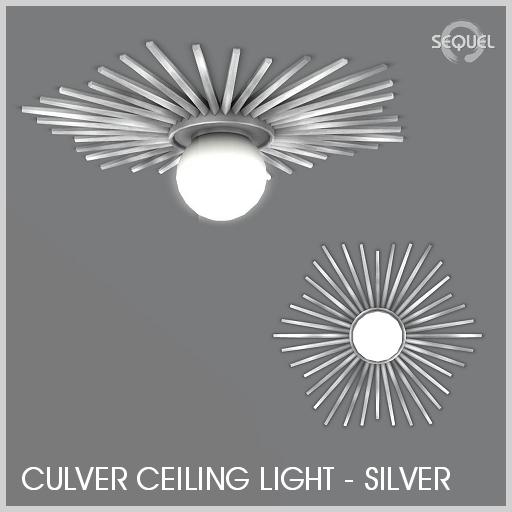Sequel - Culver Ceiling Light - Silver