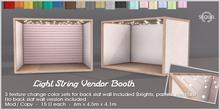Sequel - Light String Vendor Booth
