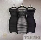 TO.KISKI - Catalina Cocktel Dress - Black Box (add me)