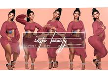 (*GlamGod*) Insta-Beauty Posepack