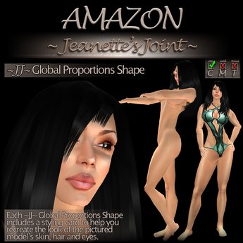 ~JJ~ Global Proportions Shape (Amazon)