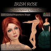 ~JJ~ Global Proportions Shape (Irish Rose)