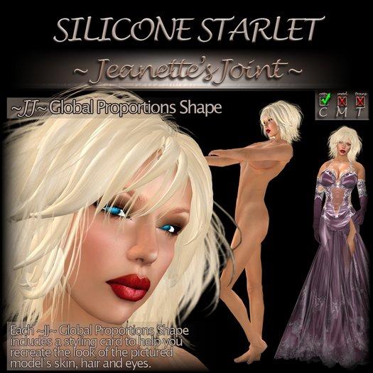 ~JJ~ Global Proportions Shape (Silicone Starlet)