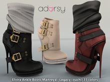 adorsy - Elvira Ankle Boots Fatpack - Maitreya/Legacy