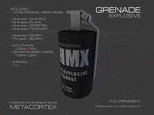 METACORTEX™ / Explosive Grenade