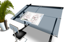 Executive Designer Drafting Table - COPY/MODIFY Version