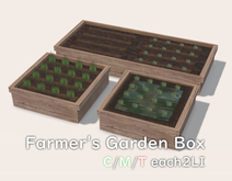 Farmer's Wooden Box