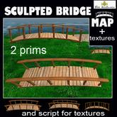 Sculpted bridge (map textures and script)2 prims