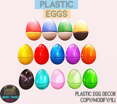 Junk Food - Plastic Eggs