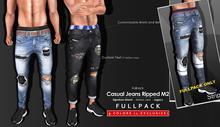 <Kalback> Casual Jeans Ripped M2 FULLPACK