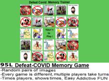 *NEW* [DA] Defeat-COVID Memory Game