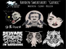 ::AMF:: Hayden Sweatshirt Gothic- Rez to open