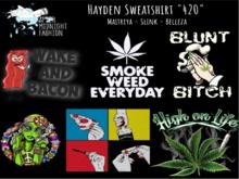::AMF:: Hayden Sweatshirt 420 - Rez to open