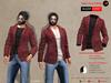 A&D Clothing - Blazer -Everet- Burgundy