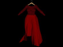 ::AMF:: Isobel Gown Red - Rez to open