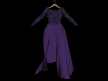 ::AMF:: Isobel Gown Purple- Rez to open