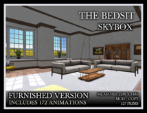 TMG - THE BEDSIT SKYBOX - FURNISHED*