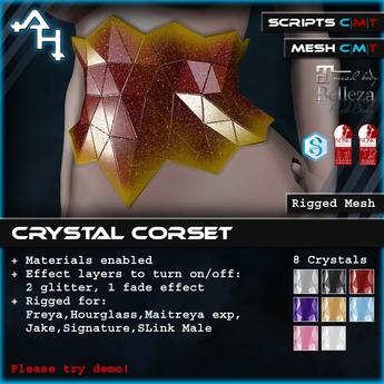 +AH+ Crystal Corset