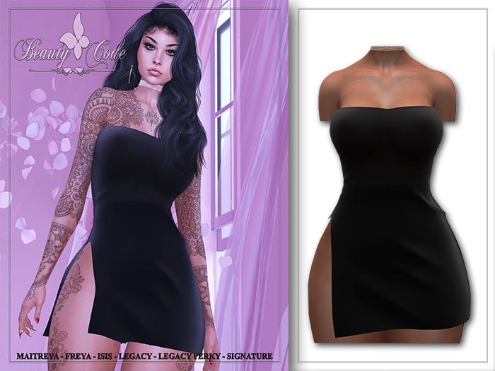 *Beauty Code* - Dres Lira Black - Unpack