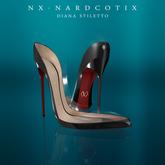 NX-Nardcotix Diana Stiletto Black