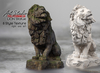 Art Studio.FULL PERM \\ Lion Statue 8 Style[right and left]