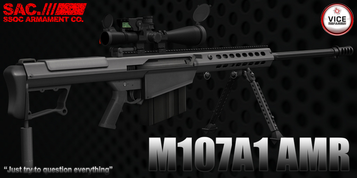 [SAC] M107A1 Anti-material Sniper Rifle v2.01 Box