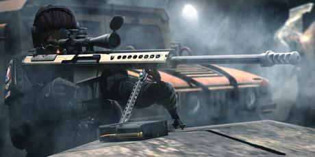 MESH[SAC] M107A1 Anti-material Sniper Rifle(LLCS/VICE) v2.02 Box