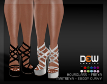 """DEW"" Marie Heels /MAITREYA/SLINK/BELLEZA/EBODY CURVY"