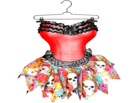 ::AMF:: Felicity Dress Rocker