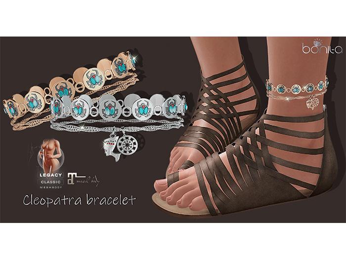 *Bonita* cleopatra bracelet (Maitreya, Legacy)