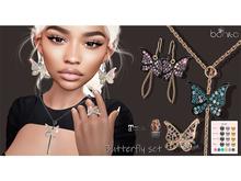 *Bonita* Butterfly set