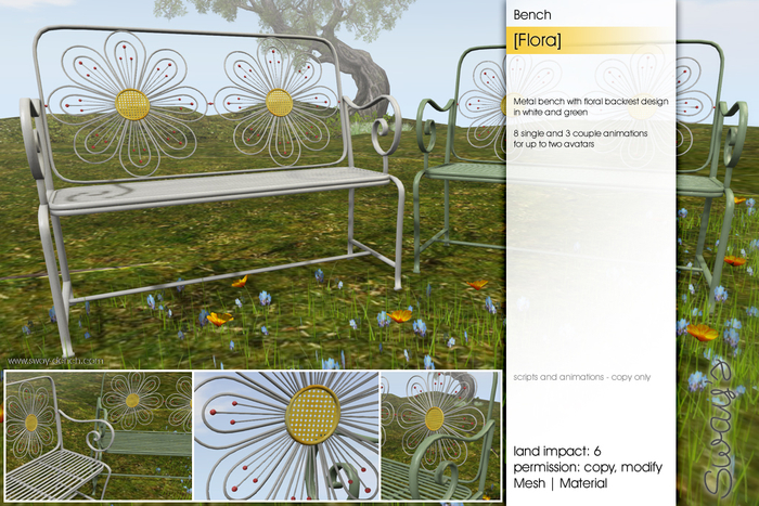 Sway's [Flora] Bench