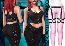 Demon Doll - Combat Leggings + Harness Candy