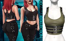 Demon Doll - Combat Top + Harness Khaki