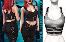 Demon Doll - Combat Top + Harness Grey