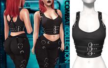 Demon Doll - Combat Top + Harness Onyx