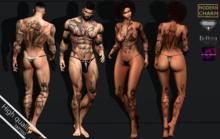 MCM - (Aesthetic - Belleza - Omega) HELL tattoo