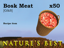 Meat: Bosk Meat x 50  [G&S]