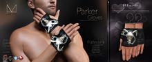 [[ Masoom ]] Parker Gloves-Black-{add me}