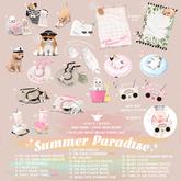 +Half-Deer+ Summer Paradise (1 random item)
