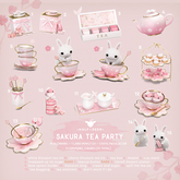 +Half-Deer+ Sakura Tea Party (1 random item)