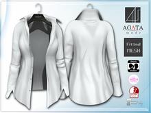 *AGATA* Chris shirt / white