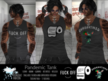 ::AMF:: Men's Pandemic Tank-  Add To Open