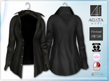 *AGATA* Chris shirt / black