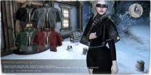 + WitchCraft + Winter Mantle Set Black