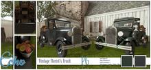 Echo - Man Cave - Vintage Florist's Truck - PG - Style 4