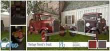 Echo - Man Cave - Vintage Florist's Truck - PG - Style 3