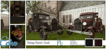 Echo - Man Cave - Vintage Florist's Truck - PG - Style 2